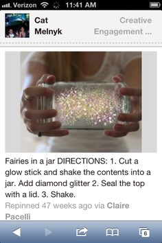 . Cheap idea to have more sparkly things at the wedding