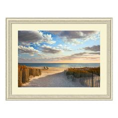 Sunset Beach Framed Wall Art | from hayneedle.com