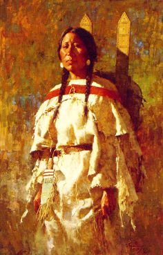 """""""Cheyenne Mother"""" 