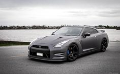 Nissan GT-R R35 Matte Black Car Tuning HD Wallpaper | FreeHDWall.Com | Free HD Wallpapers for your Desktop