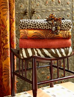 your wild and precious life....Caravan Collection by Suzanne Tucker Home - www.suzannetuckerhome.com