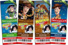 Toy Story Invitation YouPrint Toy Story Birthday Printable 25pcs Invite Print