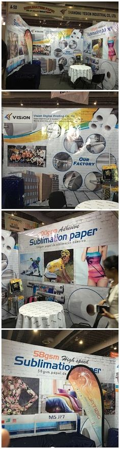 ]Friends , my workmate Cindy and Tina is in our booth A50 #Mexico #FESPA from 18th. to 20th. Aug waiting for you . Our sublimation paper 58gsm, 80gsm ,100gsm will be presenting to you www.itransferpaper.com Email:vision@itransferpaper.com