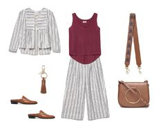 I created this look @thackernyc city stripes #youstyleit