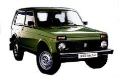 Lada  Niva 4x4 - a Russian car