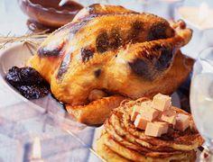 Chapon aux galettes de pommes de terreVoir la recette du Chapon aux galettes de pommes de terre