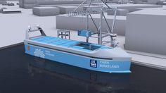 «Havets Tesla» kan bli verdens første selvkjørende skip. Og det er nordmenn som står bak. - Aftenposten
