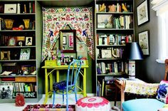 Bohemian Workspace, perfect for @Stephanie Harmon