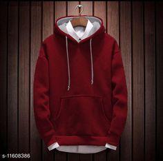 Checkout this latest Sweatshirts Product Name: *Trendy Glamorous Men Sweatshirts* Fabric: Cotton Sleeve Length: Long Sleeves Pattern: Solid Multipack: 1 Sizes: S (Chest Size: 40 in, Length Size: 27 in)  M (Chest Size: 42 in, Length Size: 28 in)  XL (Chest Size: 46 in, Length Size: 30 in)  XXL (Chest Size: 48 in, Length Size: 31 in)  Country of Origin: India Easy Returns Available In Case Of Any Issue   Catalog Rating: ★3.9 (229)  Catalog Name: Urbane Ravishing Men Sweatshirts CatalogID_2189143 C70-SC1207 Code: 606-11608386-1851
