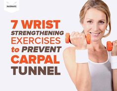 Wrist Exercises to Prevent Carpal Tunnel Strengthen your grip! 7 wrist exercises to maximize wrist, hand and forearm strength!Strengthen your grip! 7 wrist exercises to maximize wrist, hand and forearm strength! Carpal Tunnel Surgery, Carpal Tunnel Relief, Carpal Tunnel Syndrome, Pain Relief, Strengthen Wrists, Carpal Tunnel Exercises, Forearm Workout, Wrist Workouts, Hand Surgery