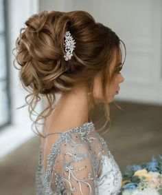 Fascinating Updo Wedding Hairstyles 2017 – 2018