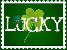 """Lucky"" printable"