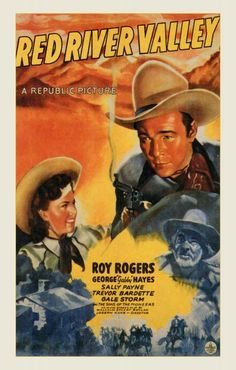 Red River Valley with Roy Rogers, Gail Storm, Gabby Hays Sons of the Pioneers 1941