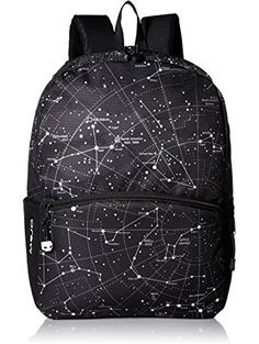 MOJO Led Lights Backpack Multipurpose Backpack, Constellation, One Size ❤ MOJO Luggage Child Code