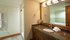 Large Master Ensuite Bathroom with Separate Bathtub