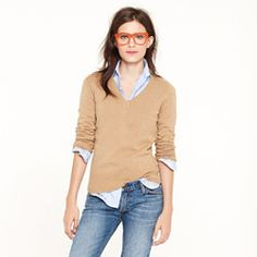 - Dream V-neck sweater (love the glasses) -