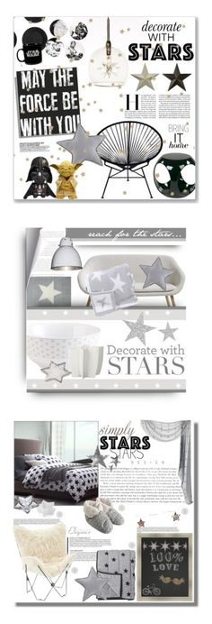 """""""Winners for Decorate With Stars"""" by polyvore ❤ liked on Polyvore featuring interior, interiors, interior design, home, home decor, interior decorating, ET2, Sentou, notNeutral and Office Star"""