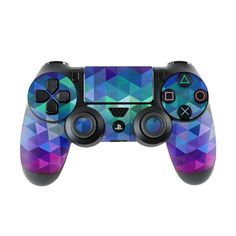 DecalGirl Sony Controller skins feature vibrant full-color artwork that helps protect the Sony Controller from minor scratches and abuse without adding any bulk or interfering with the device's operation. This skin features the artwork Charmed b Consoles, Control Ps4, Youtubers, Videogames, Ps4 Skins, Nintendo, Gaming Accessories, Gaming Wallpapers, Ps4 Controller