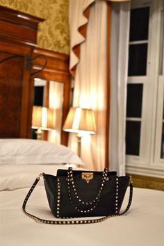 Valentino stud bag