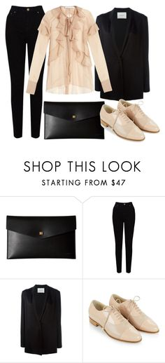 """тьргш"" by v-askerova on Polyvore featuring мода, Lodis, EAST, Lanvin, Hobbs и Givenchy"