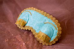 Holly Golightly sleep mask Breakfast at Tiffany's by SaliscevaShop