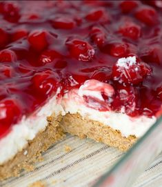 13 Desserts, Cherry Desserts, Cherry Recipes, Delicious Desserts, Yummy Food, Cherry Yum Yum Recipe, Desserts For A Crowd, Desserts With Cherries, Pastries