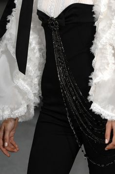 Chanel SS 09...More beautiful details to recreate for that ultimate bridal look.Ask a dressmaker for suggestions.