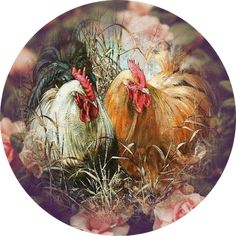 World needlework Lidiya Kostina and not only .: End of the Line part Images for decoupage Rooster Painting, Rooster Art, Painting On Wood, Chicken Painting, Chicken Art, Poster Photo, Art Watercolor, Chickens And Roosters, Decoupage Vintage