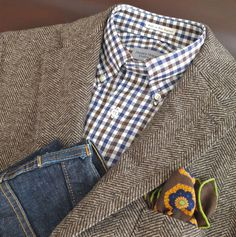 Sport coat and jeans