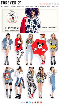 We Heavy black heart Mickey Mouse! Mickey & Co. by Forever 21