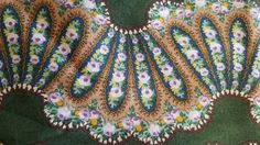 Paisley Curved Stripe  Sally Rose by Windham Sold By by Fabricatti