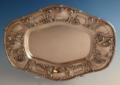 English Gadroon by Gorham Sterling Silver Pasta Server Custom Made HHWS