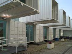 Contenedores industriales en la zona del Puerto de Sevilla. Eventos, venues, localización en sevilla, espacio para eventos. www.shabbyandchic.es