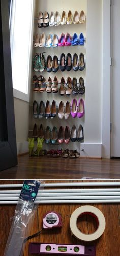 Rod Shoe Rack | Smart Shoe Storage Ideas & Designs For Any Zoom Size
