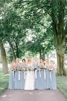 The Floral Arch At This Michigan Wedding Will Make Your Day Bride Portrait, Wedding Portraits, Wedding Photos, Blue Wedding, Summer Wedding, Corsage, Bouquet, Blush, Floral Arch