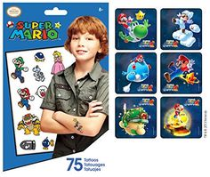 Nintendo Super Mario Stickers Party Supply Favor Pack of 90 Stickers with 75 Super Mario Temporary Kids Tattoos Nintendo http://www.amazon.com/dp/B00N2AT2LI/ref=cm_sw_r_pi_dp_b9erub18F71M1