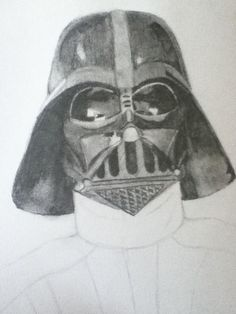 Next shade the helmet, darker underneath, gray on top. Sorry the pic is crooked...