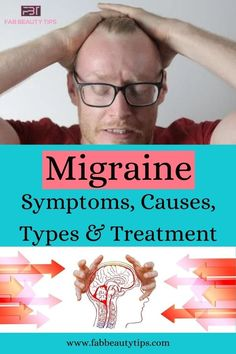 Migraine Cause, Migraine Headache, Severe Headache, Type Treatments, Fb Page, One Sided, Beauty Hacks, Encouragement, Health Fitness