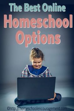 Looking for a list of online homeschool options?  Take a look at resource that provides options for websites and links to curriculum that makes learning online fun.