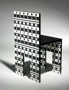 Alessandro Mendini and Alessandro Guerriero chair from the Ollo collection, 1988
