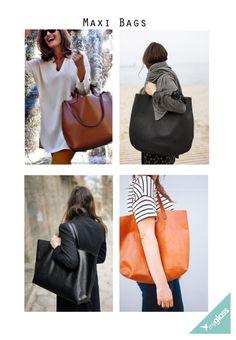 Depois de alguns anos de bolsas pequenas no centro da moda para acessórios, ao que tudo indica, as maxi bolsas estão de volta.