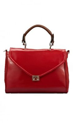 Vintage briefcase leather female bag N10019