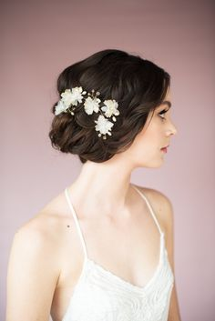 7 Wedding Hair Vines Worth Obsessing Over Right Now |  | wedding hair vines by blair nadeau millinery