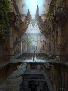 Uncharted, ling xiang on ArtStation at https://www.artstation.com/artwork/uncharted-bd4969a6-c149-4b00-a483-d6ac7b94cbd1