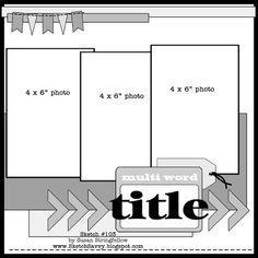 DCWV Diary - layout idea