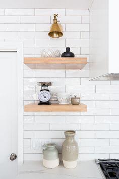 Oak Hills Kitchen — Lindsey Brooke Design Interior Inspiration, Design Inspiration, Oak Hill, Camper Renovation, Barbie Dream House, Portfolio Design, Design Projects, Floating Shelves, Modern