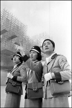 Start of Suita World's Fair, Osaka, March 15, 1970 by Rene Burri
