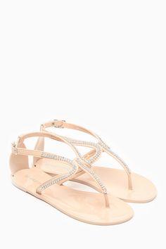 eaf7d3ce1b94 Wild Diva Joanie Nude Rhinestone Sandals   Cicihot Sandals Shoes online  store sale Sandals