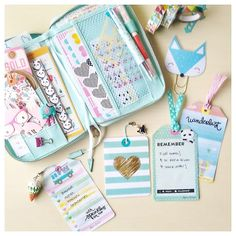 Ideas for using some of your Happie Planner Kit supplies / Ideas para usar tus artículos de tu kit de Happie Scrappie