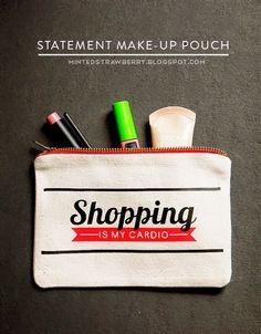 statement makeup pouch